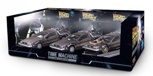 Back To The Future Trilogy 1:43 Scale Diecast Gift Set Sunstar