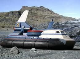 Captain Scarlet SPECTRUM Hovercraft GRP Model Kit