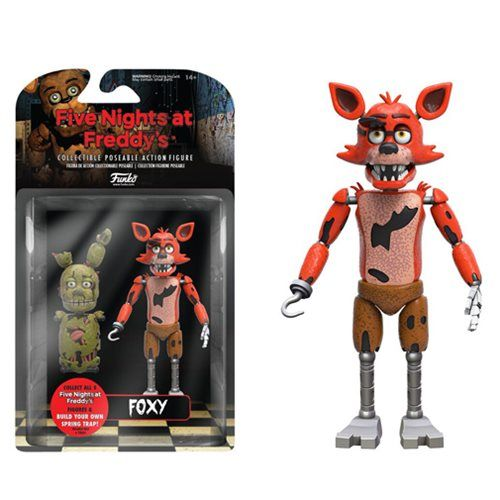 Five nights at freddy s foxy 5 inch action figure
