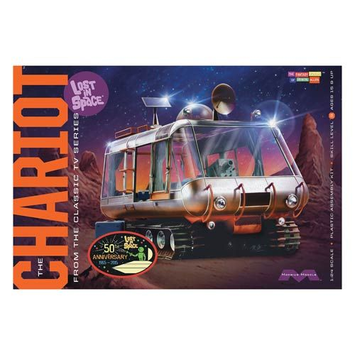 Lost In Space Chariot & Robot 1:24 Scale Model Kit