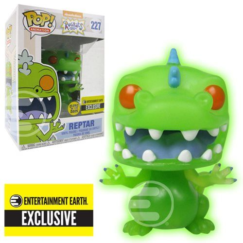 Rugrats Reptar Glow-in-the-Dark Pop Vinyl Figure #227 EE Exclusive