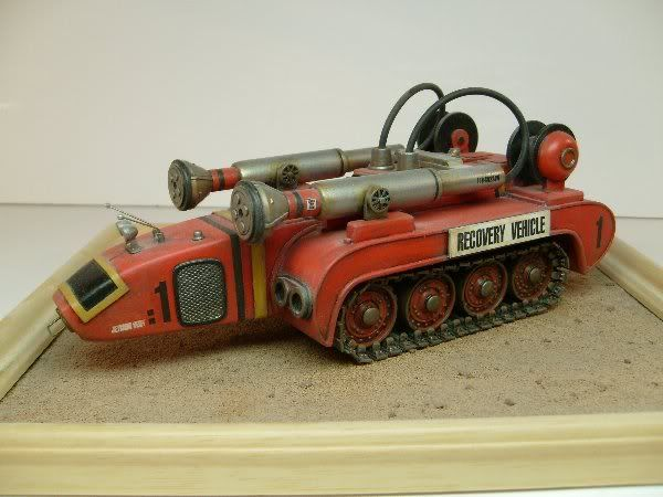 Sterling Kit Car >> Thunderbirds Recovery Vehicle GRP Model Kit By UNCL Models
