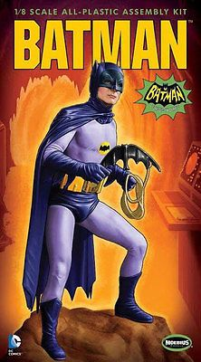 BATMAN 1966 TV SERIES ADAM WEST BATMAN MODEL KIT BY MOEBIUS MODELS NEW!