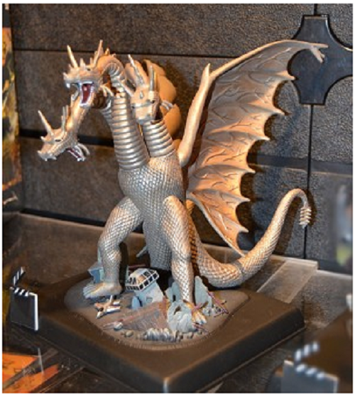 King Ghidorah 1:350 Model Kit reissue from Polar Lights
