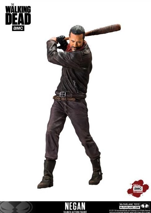 "Walking Dead Negan 10"" Deluxe Figure"
